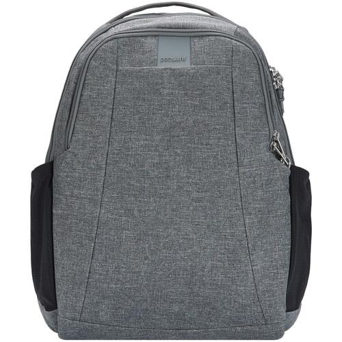 Pacsafe Metrosafe LS350 Anti-Theft Backpack (15L, Dark Tweed)