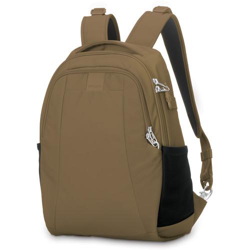 Pacsafe Metrosafe LS350 Anti-Theft Backpack (15L, Sandstone)