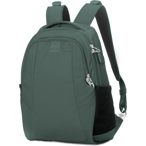 Pacsafe Metrosafe LS350 Anti-Theft Backpack (15L, Pine Green)