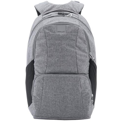 Pacsafe Metrosafe LS450 Anti-Theft Backpack (25L, Dark Tweed Gray)