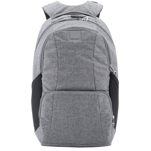 Pacsafe Metrosafe LS450 Anti-Theft Backpack (25L, Dark Tweed Gray)