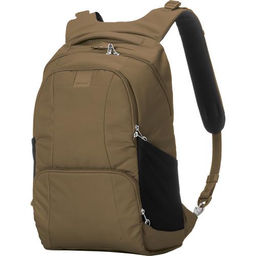 Pacsafe Metrosafe LS450 Anti-Theft Backpack (25L, Sandstone)