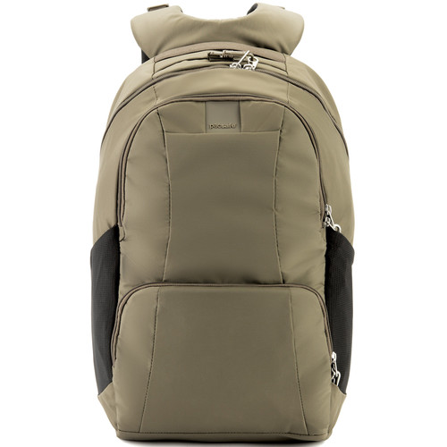 Pacsafe Metrosafe LS450 Anti-Theft Backpack (25L, Earth Khaki)