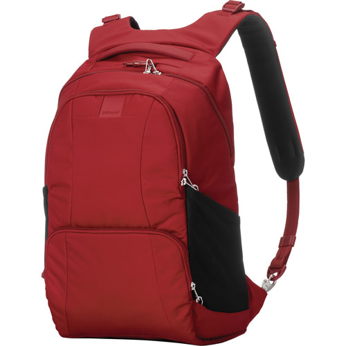 Pacsafe Metrosafe LS450 Anti-Theft Backpack (25L, Vintage Red)