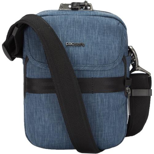 Pacsafe Metrosafe X Anti-Theft Compact Recycled Crossbody Bag (Dark Denim)