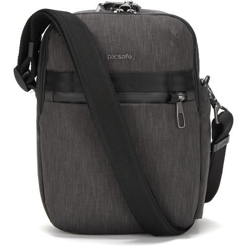Pacsafe Metrosafe X Anti-Theft Vertical Recycled Crossbody Bag (Carbon)