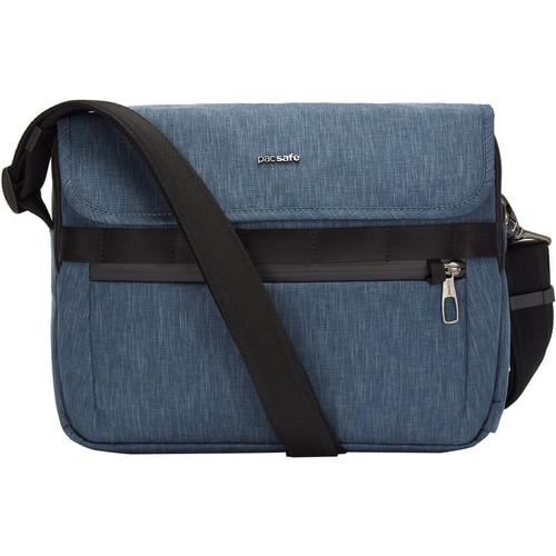 Pacsafe Metrosafe X Anti-Theft Recycled Messenger Bag (Dark Denim)