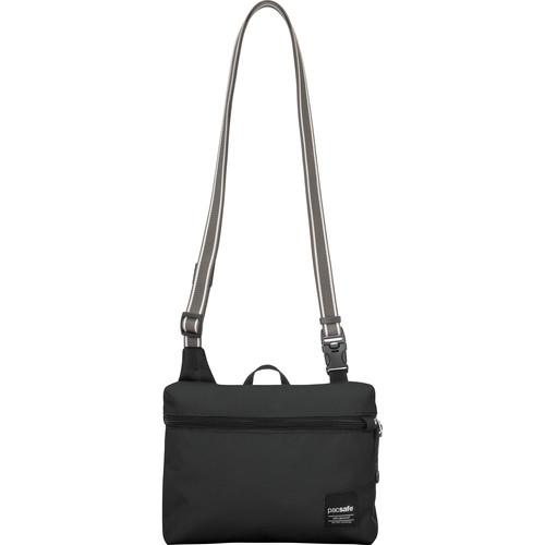 Pacsafe Slingsafe LX50 Anti-Theft Mini Cross Body Bag (Black)