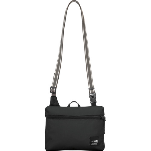 Pacsafe Slingsafe LX50 Anti-Theft Mini Cross Body Bag (Black)