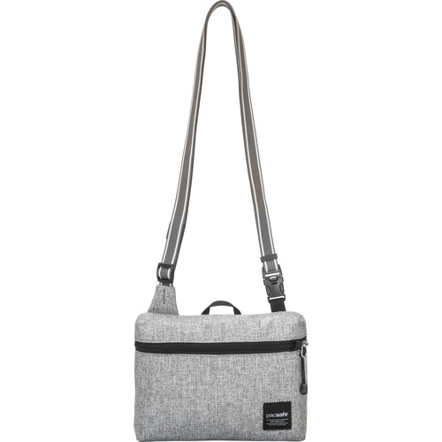 Pacsafe Slingsafe LX50 Anti-Theft Mini Cross Body Bag (Tweed Grey)