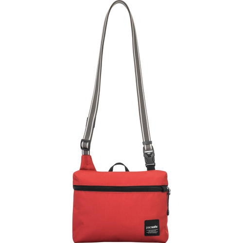 Pacsafe Slingsafe LX50 Anti-Theft Mini Cross Body Bag (Chili)