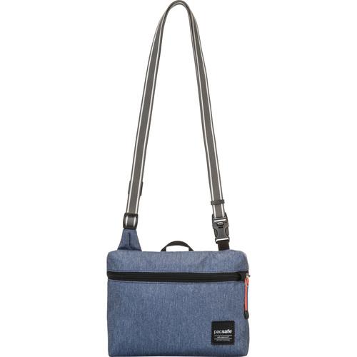 Pacsafe Slingsafe LX50 Anti-Theft Mini Cross Body Bag (Denim)