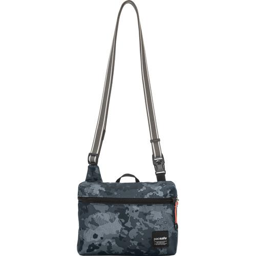 Pacsafe Slingsafe LX50 Anti-Theft Mini Cross Body Bag (Gray Camo)