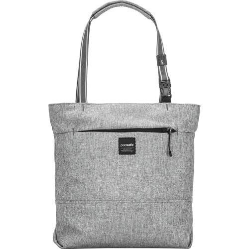 Pacsafe Slingsafe LX200 Anti-Theft Compact Tote (Tweed Gray)