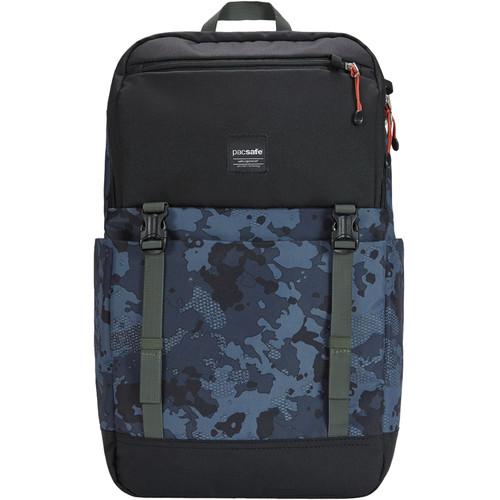 Pacsafe Slingsafe LX500 Anti-Theft 21L Backpack (Gray Camo)