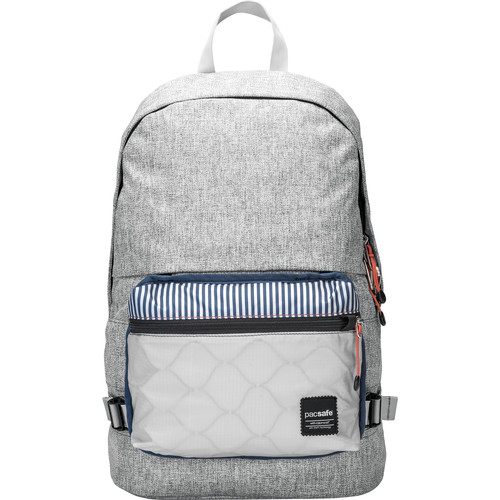 Pacsafe Slingsafe LX400 Anti-Theft Backpack (Tweed Gray)