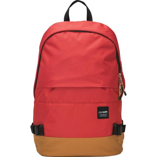 Pacsafe Slingsafe LX400 Anti-Theft Backpack (Chili/Khaki)