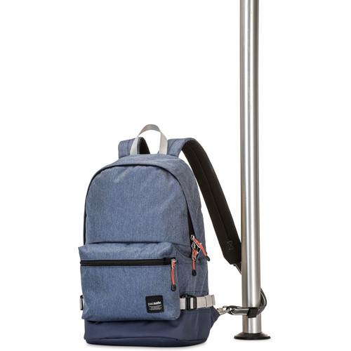 Pacsafe Slingsafe LX400 Anti-Theft Backpack (Denim)