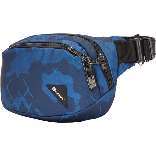 Pacsafe Vibe 100 Anti-Theft Hip Pack (Blue Camo)