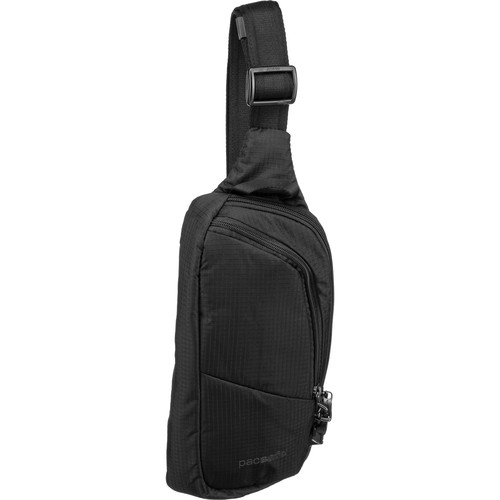 Pacsafe Vibe 150 Anti-Theft Cross Body Pack (Jet Black)