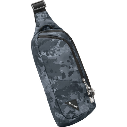 Pacsafe Vibe 150 Anti-Theft Cross Body Pack (Gray Camo)