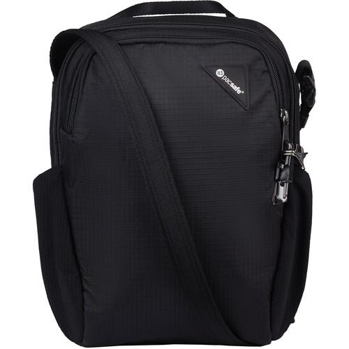 Pacsafe Vibe 200 Anti-Theft Crossbody Bag (Jet Black)