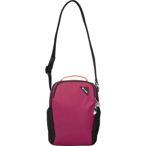 Pacsafe Vibe 200 Anti-Theft Compact Travel Bag (Dark Berry)