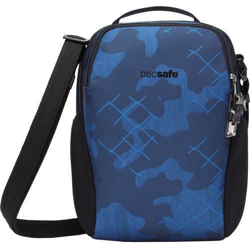 Pacsafe Vibe 200 Anti-Theft Crossbody Bag (Blue Camo)