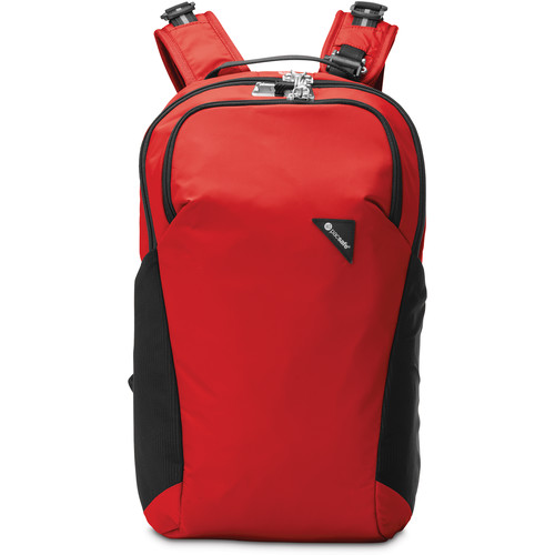 Pacsafe Vibe 20 Anti-Theft Backpack (20L, Red)