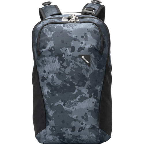 Pacsafe Vibe 20 Anti-Theft 20L Backpack (Gray Camo)