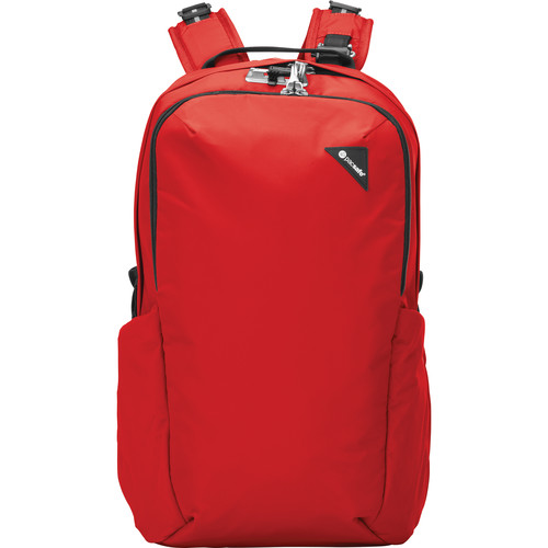 Pacsafe Vibe 25 Anti-Theft Backpack (25L, Red)