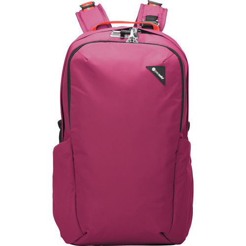 Pacsafe Vibe 25 Anti-Theft 25L Backpack (Dark Berry)