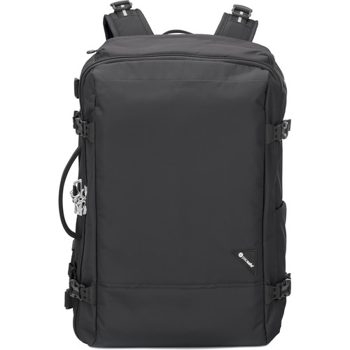 Pacsafe Vibe 40 Anti-Theft Carry-On Backpack (40L, Black)