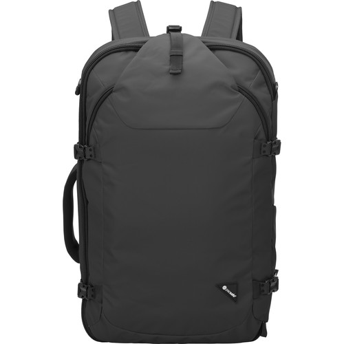 Pacsafe Venturesafe EXP45 Anti-Theft Carry-On Backpack (45L, Black)