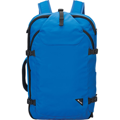 Pacsafe Venturesafe EXP45 Anti-Theft Carry-On Backpack (45L, Blue)