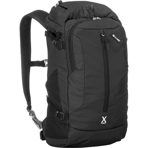 Pacsafe Venturesafe X22 Anti-Theft Backpack (Black, 22L)