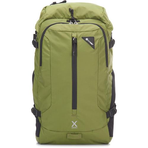 Pacsafe Venturesafe X22 Anti-Theft Backpack (Olive Green, 22L)