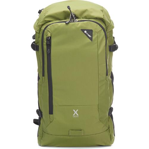 Pacsafe Venturesafe X30 Anti-Theft Backpack (Olive Green, 30L)