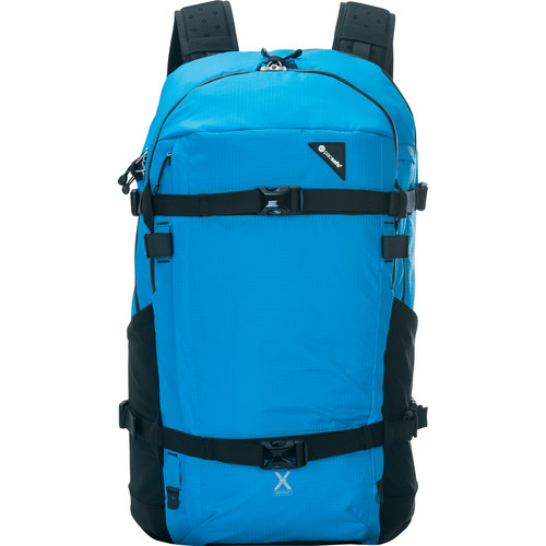 Pacsafe Venturesafe X40 PLUS Anti-Theft 40L Multi-Purpose Backpack (Hawaiian Blue)