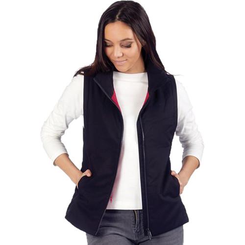 Pacsafe Transit RFID Women's Multi-Pocket Insulated Vest (Jet Black, Medium)