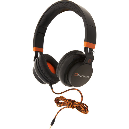Padcaster On-Ear Stereo Headphones