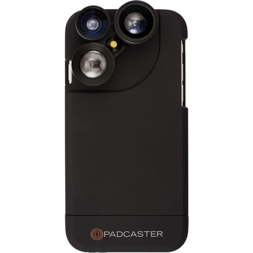 Padcaster Four-in-One Lens Case for iPhone 7/8