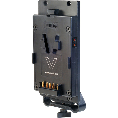 PAG V-Mount Plate with 15mm Rod Clamp & D-Tap Output