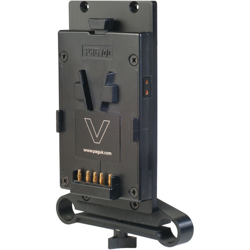 PAG V-Mount Plate with 19mm Rod Clamp & D-Tap Output