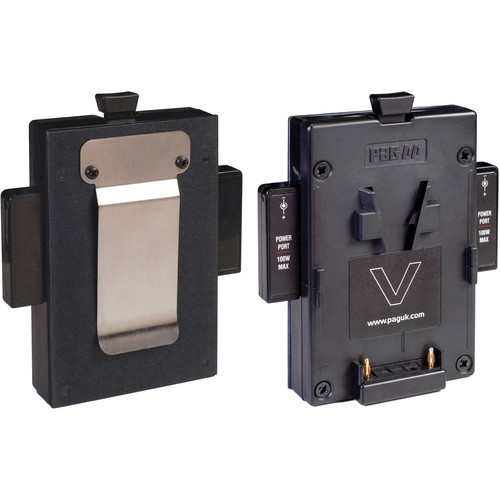 PAG V-Mount Connector with Belt Clip & 2 PP90 Outputs