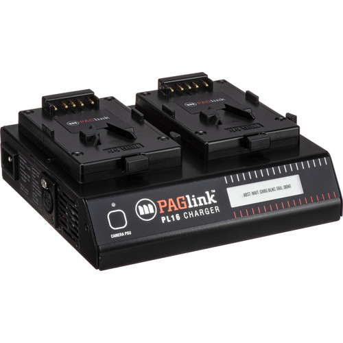 PAG PAGlink PL16 Charger for PAGlink V-Mount Li-ion Batteries