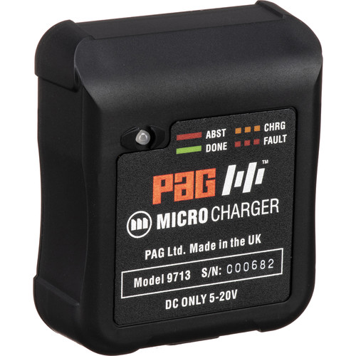 PAG PAGlink Micro Charger with Wall, USB, & Car Adapters (Gold Mount)