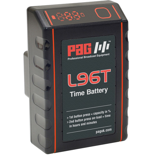 PAG L96T Time Battery with 9305 PAGlok Professional Connector