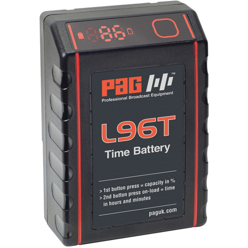 PAG L96T Time Battery with 9305V Sony V-Mount Connector