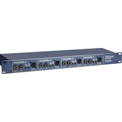 "Palmer PAN 03 19"" Passive Four-Channel DI Box"